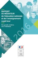 Rapport médiateur 2016