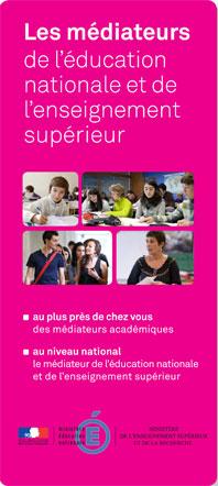 Médiateurs de l'éducation nationale et de l'enseignement supérieur 2013