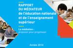 Rapport 2014 de la médiatrice de l'éducation nationale et de l'enseignement supérieur