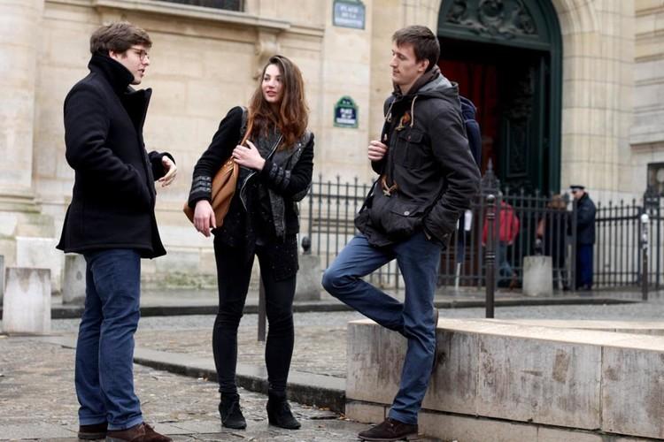 Paris Sorbonne - étudiants