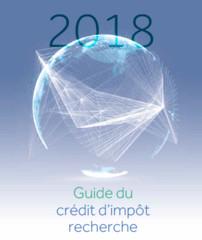Guide Du Credit D Impot Recherche 2018 Ministere De L Enseignement