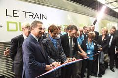 Inauguration Train du climat