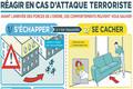 Campagne de sensibilisation : Comment réagir en cas d'attaque terroriste