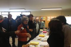 Visite de Geneviève Fioraso à l'I.U.T. de Reims