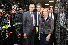 Inauguration du supercalculateur CURIE