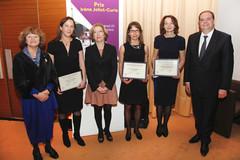 Remise du prix Irene Joliot Curie 2012