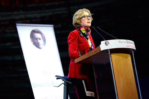 Discours de Geneviève Fioraso lors de la cérémonie des voeux