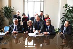 Signature par G. Fioraso du foncier du futur Campus Condorcet - 11 mars 2013