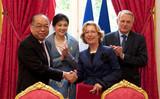 Signature d'un accord de coopération éducative et de recherche avec la Thaïlande