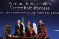30e sommet franco-italien à Lyon