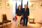 Rencontre avec Ernest Moniz, Secrétaire d'Etat américain à l'énergie