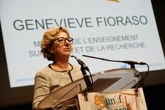 Geneviève Fioraso au Congrès de l'UNEF le 18 avril 2013