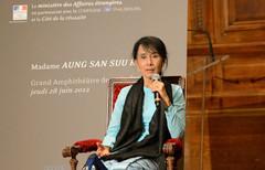 Aung San Suu Kyi - Sorbonne