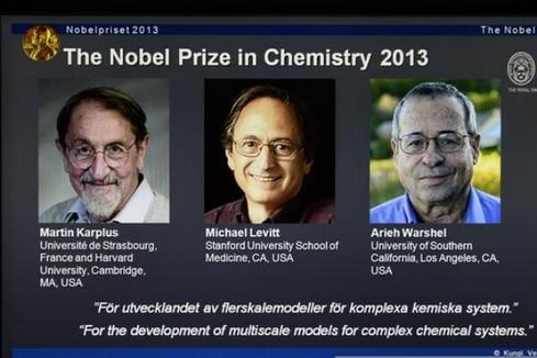 Martin Karplus, Michael Levitt et Arieh Warshel, Prix Nobel de chimie 2013