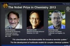Lauréats du Prix Nobel de chimie 2013