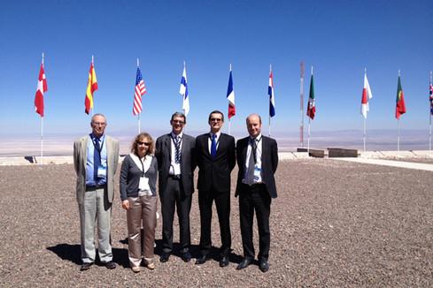 Inauguration de l'observatoire de radioastronomie ALMA