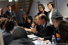 Voeux de François Hollande à la jeunesse
