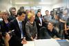 Geneviève Fioraso en visite à Paris 13 : une université pionnière dont il faut s'inspirer