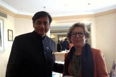 Rencontre entre G. Fioraso et S. Tharoor