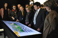 Inauguration de l'Oblique le 16 avril 2013