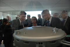 Visite du bâtiment siège ITER