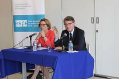 Geneviève Fioraso et Vincent Peillon à Lyon sur les ESPE