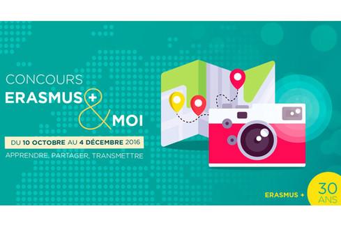 Prix du Concours Erasmus+ et moi : apprendre, partager, transmettre