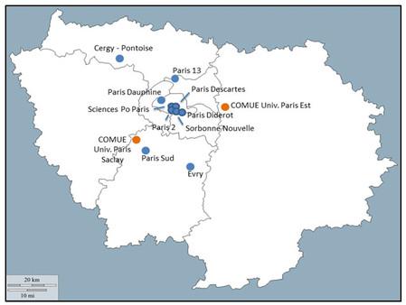 Plan bibliothèque: Etablissements lauréats à Paris et en Île-de-France
