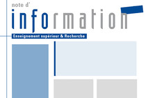 Flux R.S.S. notes d'information Enseignement sup Recherche