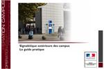 Guide sur la signalétique extérieure des campus