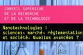Nanotechnologies : sciences, marché, réglementation et société