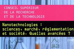 CSRT : nanotechnologies : sciences, marché, réglementation et société