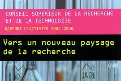 Vers un nouveau paysage de la recherche - Rapport d'activité 2005-2006 CSRT