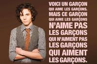 Affiche de la campagne de lutte contre l'homophobie