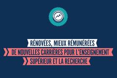 Rénovées, mieux rémunérées : de nouvelles carrières pour l'ESR