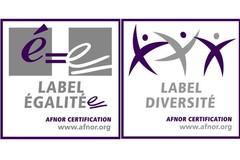 Logo Label Egalité