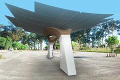 Projet DRIVECO : réalisation en Corse d'un premier démonstrateur de réseau de stations de recharges de véhicules électriques à l'énergie solaire