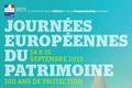 Journées européennes du patrimoine au ministère : 14-15 septembre 2013