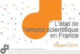 L'état de l'emploi scientifique en France - Rapport 2014