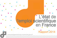 L'état de l'emploi scientifique en France - Rapport 2014