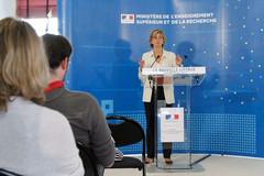 Valérie Pécresse : conférence de presse nouvelle licence