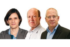 Esther Duflo, Mathias Fink et François Pierrot