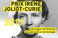 Prix Irène Joliot-Curie : lancement de l'édition 2017