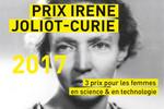 Prix Irène Joliot-Curie 2017 : trois femmes de science récompensées