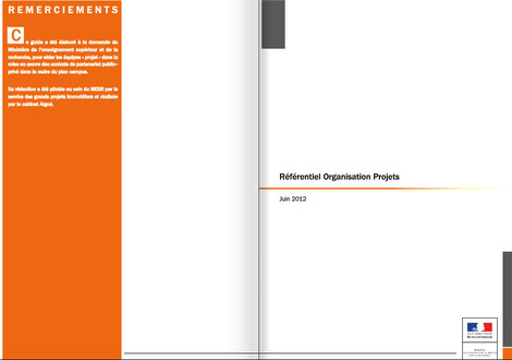 Guide référentiel organisation projet