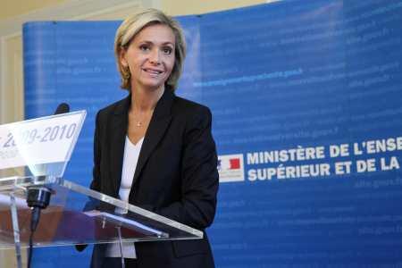 Valérie Pécresse lors de la conférence de presse Rentrée uni