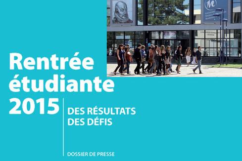 Rentrée universitaire 2015 : des résultats, des défis