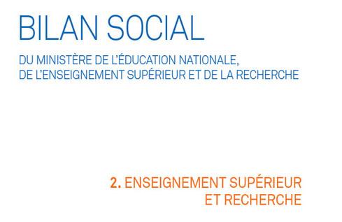 Bilan social 2015-2016 : partie 2. L'enseignement supérieur et la recherche
