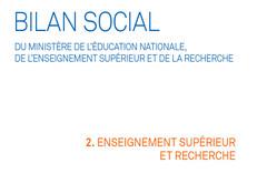 Bilan social 2015-2016 : partie dédiée à l'ESR