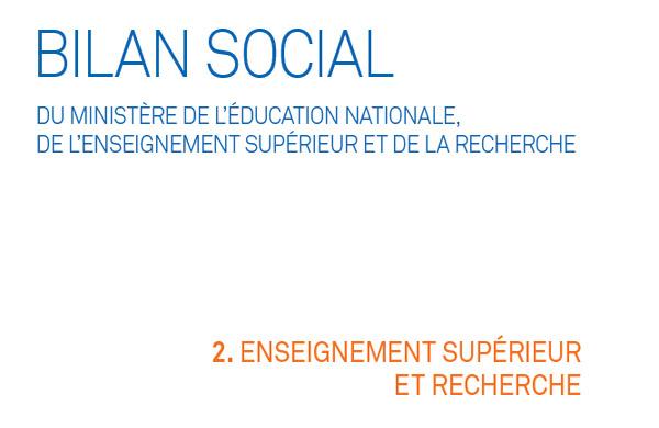 Bilan Social 2015 2016 Partie 2 L Enseignement Superieur Et La